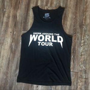Lost Bros Drink Around the World Tour Tank Top